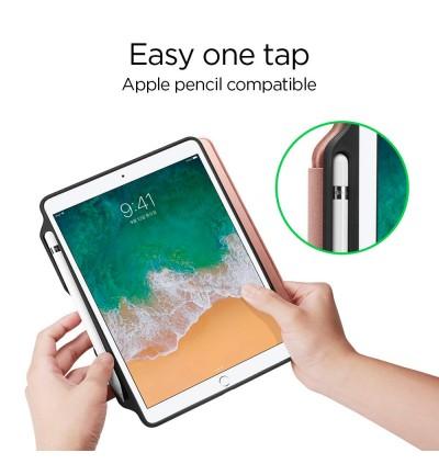 Original Spigen Smart Fold 2 Protective Case with Pencil Holder for Apple iPad 9.7 2017 / 2018