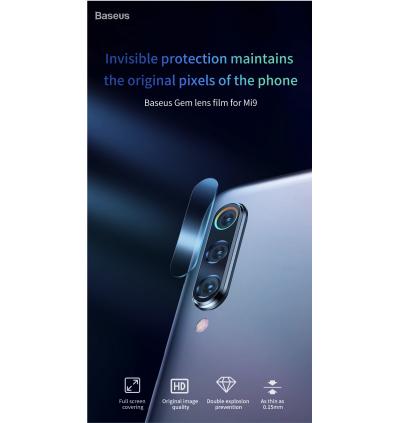 Baseus 2 Pcs 0.15mm Camera Lens Glass Film Protector For Xiaomi Mi 9