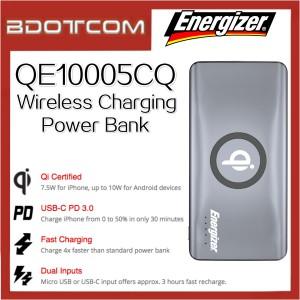 Energizer QE10005CQ 10000mAh QC3.0 PD Power Bank with Wireless Charging