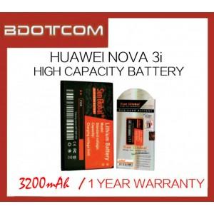 Huawei Nova 3i Sun Global 3200mAh High Capacity Battery