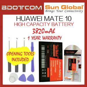 Huawei Mate 10 Sun Global 3820mAh High Capacity Battery with Tools