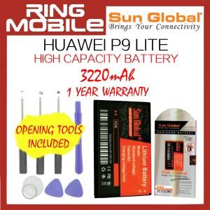 Huawei P9 Lite Sun Global 3220mAh High Capacity Battery with Tools