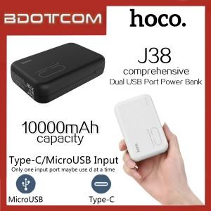 Hoco J38 Comprehensive series 10000mAh Dual USB Port Power Bank