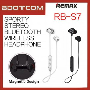 Original Remax RB-S7 Sporty Stereo Bluetooth Wireless Headphone