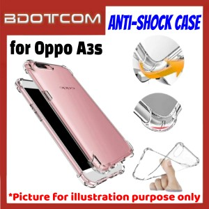 Anti-Shock Drop Proof Protective Case for Oppo A3s