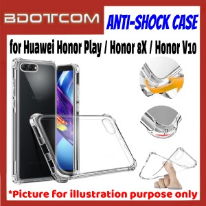 Anti-Shock Drop Proof Protective Case for Huawei Honor Play / Honor 8X / Honor V10