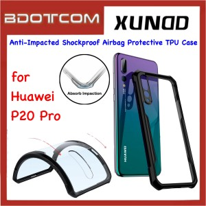 Xundd Beetle Series Anti-Impacted Shockproof Airbag Protective TPU Case for Huawei P20 Pro