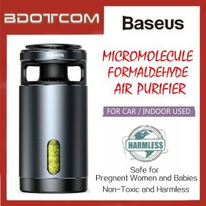 Baseus Micromolecule Formaldehyde Air Purifier for Car / Indoor Used For Toyota / Honda / Mazda / Proton / Perodua / BMW / Mercedes / Hyundai / Nissan / Audi / Volvo / Volkswagen / Lexus / Kia / Suzuki / Ford / Mitsubishi
