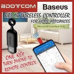 Baseus R03 Universal SmartPhone IR Wireless Controller MircoUSB One-Key Remote Control for Home Appliances