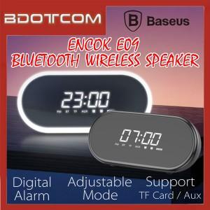 Baseus Encok E09 Stereo V4.2 Bluetooth Wireless Speaker with Digital Alarm Clock