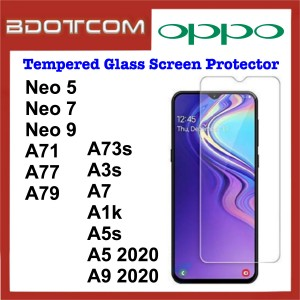 Tempered Glass Screen Protector for Oppo Neo 5 / Neo 7 / Neo 9 / A71 / A77 / A79 / A73s / A3s / A7 / A1k / A5s / A5 2020 / A9 2020