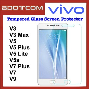 Tempered Glass Screen Protector for Vivo V3 / V3 Max / V5 / V5 Plus / V5 Lite / V5s / V7 Plus / V7 / V9