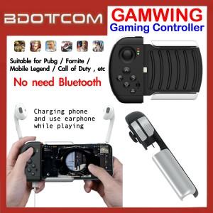 GAMWING Ao Bing Gaming Controller for Apple iPhone 7 / iPhone 8 / iPhone XR / iPhone XS / iPhone Xs Max / iPhone 11 / iPhone 11 Pro / iPhone 11 Pro Max