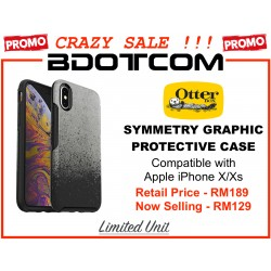 (CRAZY SALES) Original Otterbox Symmetry Graphic Series Protective Cover Case for Apple iPhone X/Xs (You Ashed 4 It)