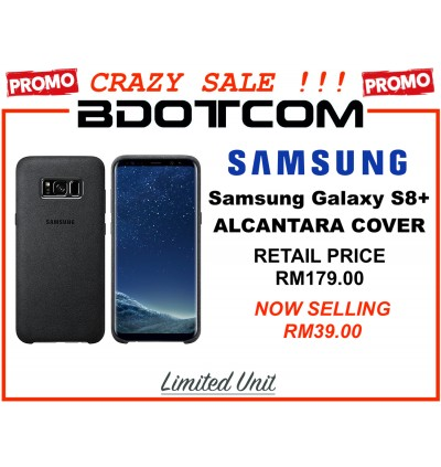 (CRAZY SALES) Original Samsung Alcantara Luxurious and Premium Cover for Samsung Galaxy S8+ Galaxy S8 Plus