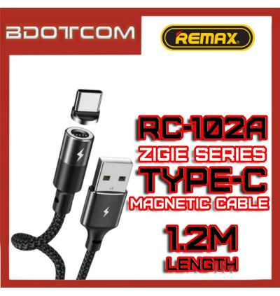 Remax RC-102a Zigie series 1.2m Type-C Magnetic Data Cable