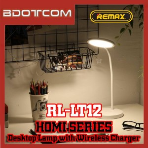 Remax RL-LT12 Homi series LED Light Desktop Lamp with Wireless Charger