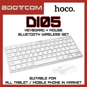Hoco DI05 Bluetooth Wireless Keyboard + Wireless Mouse Set