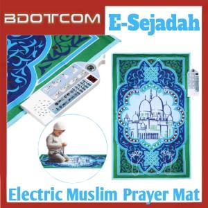 Electric Muslim Prayer Interactive Educational Computerised Salah Mat with Easy Touch Keys For Kids Learning E Sejadah Kits Belajar Solat