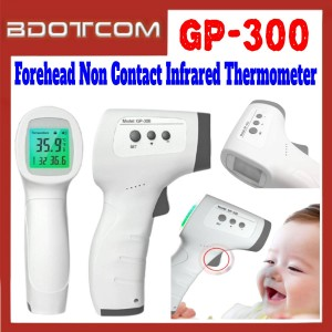 [ Ready Stock ] GP-300 Handheld Thermometer Straight Forehead Non Contact Infrared Thermometer