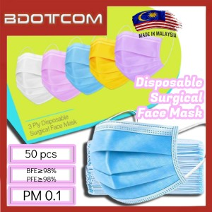 [Ready Stock] Beyond Mask 3 PLY Disposable Surgical Face Mask (50psc / Box)