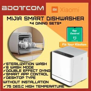 [Ready Stock] Xiaomi Mijia Smart Dishwasher Machine Wireless Intelligent Sterilization Kitchen Appliances