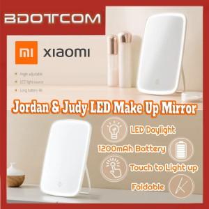 [Ready Stock] Xiaomi Jordan & Judy Adjustable LED Lighted Make Up Mirror