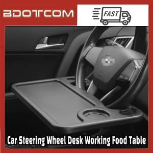 [Ready Stock] Car Steering Wheel Desk Laptop Working Food Table