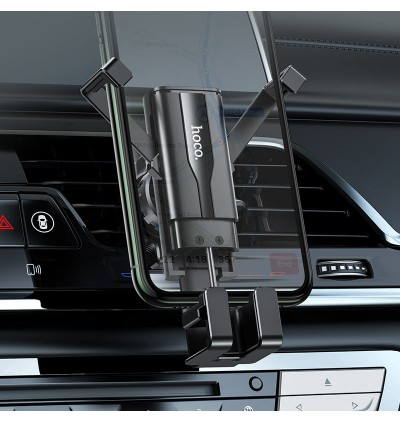 [Ready Stock] Hoco CA72 Phantom Air Vent Hidden Gravity In-Car Mount Phone Holder for Samsung / Huawei / Xiaomi / Oppo / Vivo / Toyota / Honda / Mazda / Proton / Perodua, BMW / Benz Mercedes