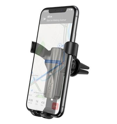 [Ready Stock] Hoco CA71 Dignity Air Outlet Gravity In-Car Mount Phone Holder for Samsung / Huawei / Xiaomi / Oppo / Vivo / Toyota / Honda / Mazda / Proton / Perodua, BMW / Benz Mercedes
