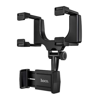 [Ready Stock] Hoco CA70 Pilot In-Car Rearview Mirror Mount Phone Holder for Samsung / Huawei / Xiaomi / Oppo / Vivo / Toyota / Honda / Mazda / Proton / Perodua, BMW / Benz Mercedes