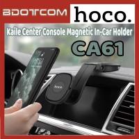 [Ready Stock] Hoco CA61 Kaile Center Console Magnetic In-Car Mount Phone Holder for Samsung / Huawei / Xiaomi / Oppo / Vivo / Toyota / Honda / Mazda / Proton / Perodua, BMW / Benz Mercedes