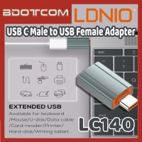 [Ready Stock] LDNIO LC140 USB C Male to USB Female Adapter for Samsung / Huawei / Xiaomi / Oppo / Vivo / Realme / OnePlus