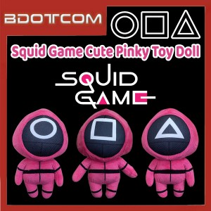 [Ready Stock] Squid Game Cute Pinky Toy Doll for Kid / Children