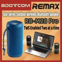 [Ready Stock] Remax RB-M28 Pro Star Series Outdoor Wireless Bluetooth Speaker for Outdoor / Indoor / Samsung / Xiaomi / Huawei / Oppo / Vivo / Realme / OnePlus