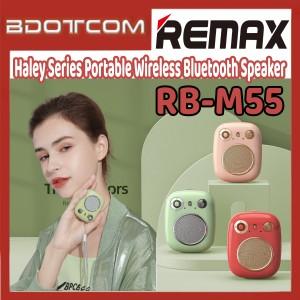 [Ready Stock] Remax RB-M58 Haley Series Portable Wireless Bluetooth Speaker for Samsung / Huawei / Xiaomi / Oppo / Vivo / Realme / OnePlus