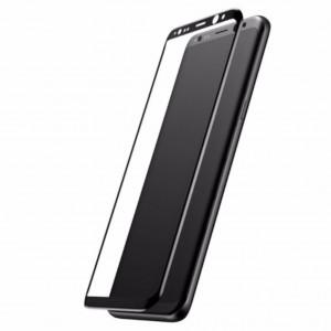 Samsung Galaxy S8 Plus Baseus 3D Arc Edge 0.3mm Tempered Glass (Black)