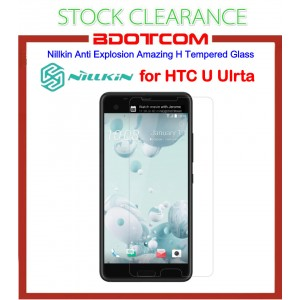 [CLEARANCE] Nillkin Anti Explosion Amazing H Tempered Glass for HTC U Ultra (Clear)