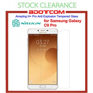 [CLEARANCE] Nillkin Amazing H+ Pro Anti Explosion Tempered Glass for Samsung Galaxy C9 Pro (Clear)