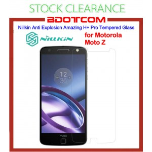 [CLEARANCE] Nillkin Anti Explosion Amazing H+ Pro Tempered Glass Screen Protector for Motorola Moto Z (Clear)