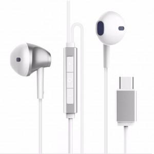 Baseus B51 Digital Type-C Wired Control Earphone (White)