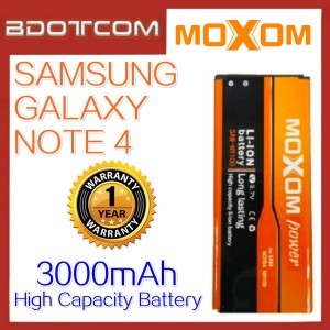 Moxom Replacement Battery for Samsung Galaxy Note 4 N910 Battery
