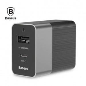 Baseus Duke series 15W Type-C PD+U Dual USB Travel Charger