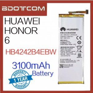Replacement Battery HB4242B4EBW For Huawei Honor 6 Battery