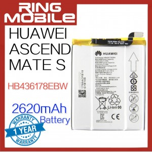 Replacement Battery HB436178EBW For Huawei Ascend Mate S  2620mAh Standard Battery