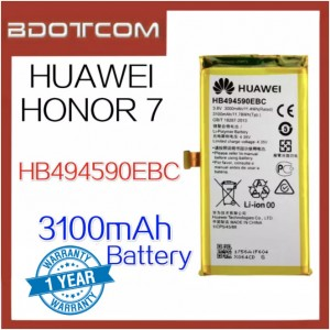 Replacement Battery HB494590EBC For Huawei Honor 7  3100mAh Standard Battery
