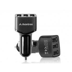 Avantree 4.8A 3 USB Port Car Charger - TR408