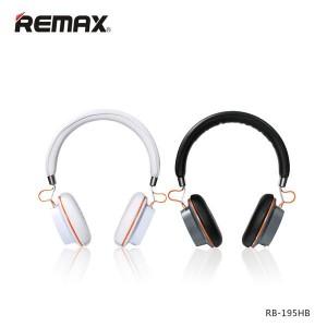 Original Remax RB-195HB Stereo Bluetooth Wireless Headset