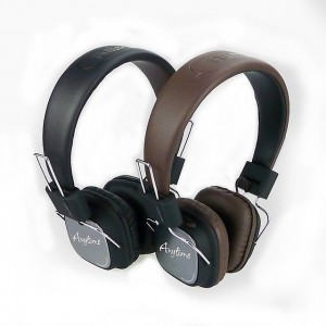 Original Remax RM-100H Wired Leather HiFi Headset
