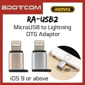 Remax RA-USB2 MicroUSB to 8pin Lightning OTG Adapter